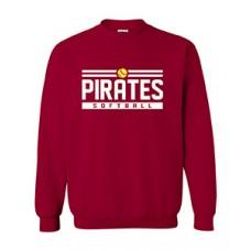 Park PIRATES Crewneck Sweatshirt (Cardinal Red)