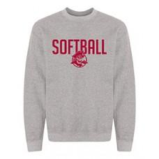 Park SOFTBALL Crewneck Sweatshirt (Graphite Heather)
