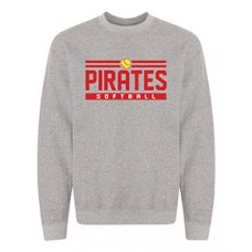 Park PIRATES Crewneck Sweatshirt (Graphite Heather)