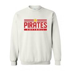 Park PIRATES Crewneck Sweatshirt (White)