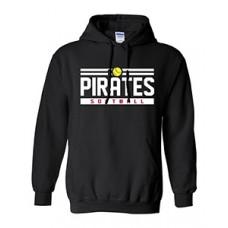 Park PIRATES Hoodie Sweatshirt (Black)