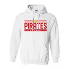 Park PIRATES Hoodie Sweatshirt (White)