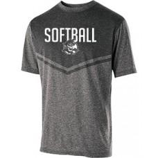 Park Softball Dry-Excel Training Top (Black)