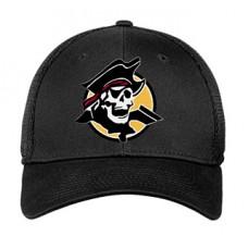 Park SOFTBALL New Era FlexFit Hat (Black-Black)