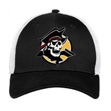 Park SOFTBALL New Era FlexFit Hat (Black-White)