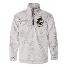 Park Softball Sherpa Fleece Quarter-Zip Pullover (Frosty Grey)