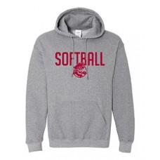 Park SOFTBALL Hoodie Sweatshirt (Graphite Heather)