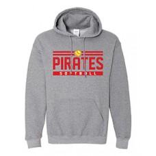 Park PIRATES Hoodie Sweatshirt (Graphite Heather)