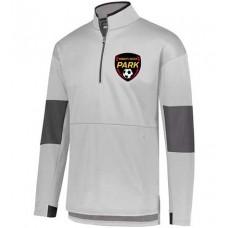 Park 2021 Soccer Sof-Stretch Jacket (White-Carbon)