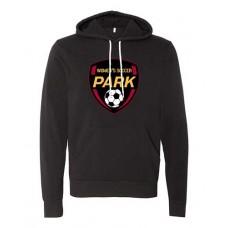 Park 2021 Soccer Sponge Fleece EMBLEM Hoodie (Black)