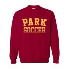 Park 2021 Soccer Crewneck PARK Sweatshirt (Cardinal Red)