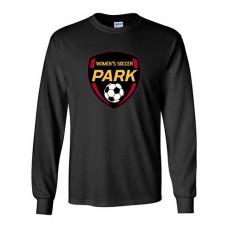 Park 2021 Soccer Long Sleeved EMBLEM T-shirt (Black)