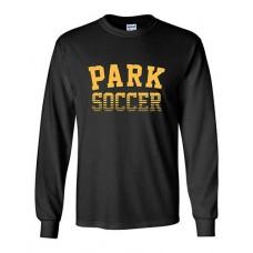 Park 2021 Soccer Long Sleeved PARK T-shirt (Black)