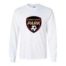 Park 2021 Soccer Long Sleeved EMBLEM T-shirt (White)