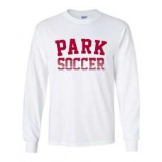 Park 2021 Soccer Long Sleeved PARK T-shirt (White)