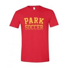 Park 2021 Soccer Short Sleeve PARK Tee (Cardinal Red)