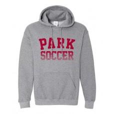 Park 2021 Soccer Hoodie PARK Sweatshirt (Graphite Heather)
